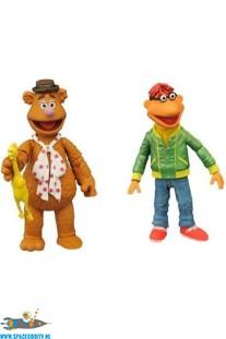 The Muppets actiefiguren Fozzie  & Scooter