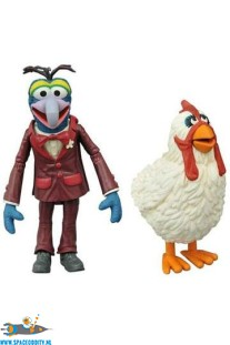 ​The Muppets actiefiguren Gonzo  & Camilla