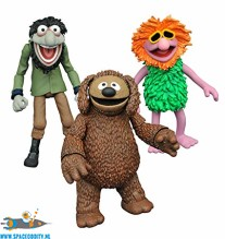 ​The Muppets actiefiguren Rowlf, Mahna Mahna & Crazy Harry