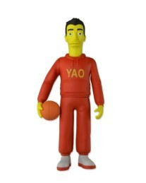 The Simpsons Yao Ming actiefiguur