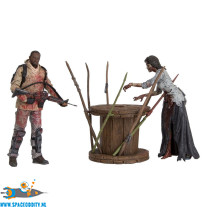 The Walking Dead Morgan with Impaled Walker