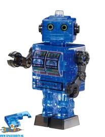 Tin Robot 3D puzzel blauw