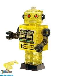 Tin Robot 3D puzzel geel