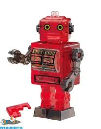 Tin Robot 3D puzzel rood