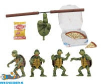 ​TMNT actiefiguren 4-pack baby turtles
