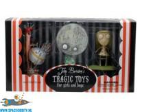 Tragic Toys Tim Burton set van 3 figuren met o.a. Brie Boy