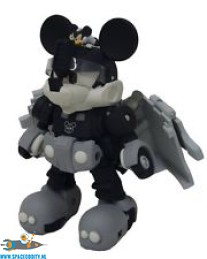 Transformers Disney Label Optimus Prime / Mickey Mouse black & white