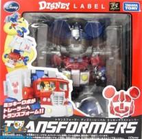Transformers Disney Label Optimus Prime / Mickey Mouse