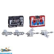 Transformers G1 reissue mini cassettes Frenzy & Laserbeak