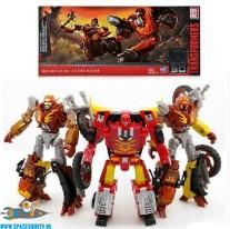 Transformers Platinum Edition : Planet of Junk Clash 3 pack