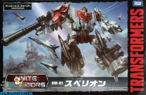 Transformers United Warriors UW-01 Superion