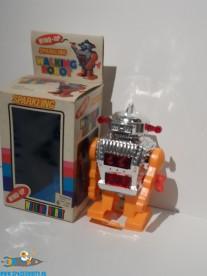 Vintage Sparkling Walking Robot