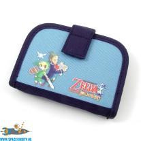 Zelda Nintendo DS games case blauw