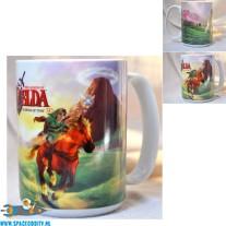 The Legend of Zelda beker/mok Ocarina of Time 3d groen