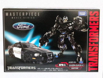 Transformers Movie Masterpiece MPM-5 Barricade !!
