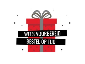 Bestel op tijd uw presentjes voor de feestdagen !!