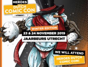 Wij zijn aanwezig op Heroes Dutch Comic Con