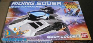 LBX Riding Sousa body color B non scale bouwpakket