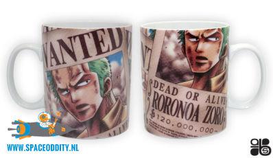 One Piece beker/mok Wanted Roronoa Zoro