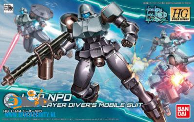 Gundam Build Divers 008 Leo NPD