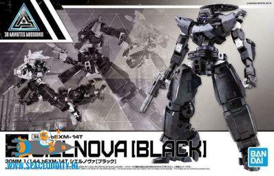 30 Minutes Missions bouwpakket 1/144 schaal bEXM-14t Cielnova (black)
