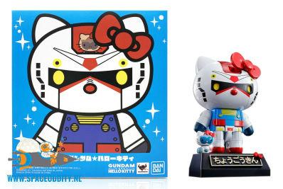 Gundam X Hello Kitty Chogokin Gundam color figuur