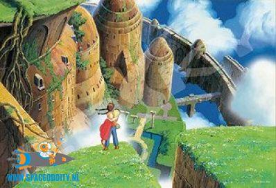 Castle in the Sky (van Studio Ghibli) jigsaw puzzle no 300-419