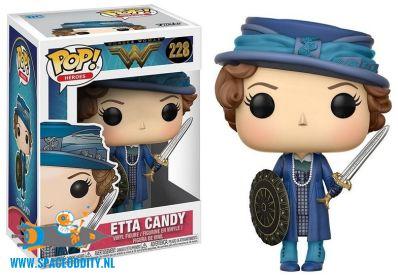 Pop! Heroes Wonder Woman bobble head Etta Candy
