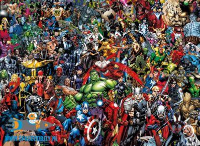 te koop, amsterdam , nederland, Marvel 80th anniversary; impossible puzzel