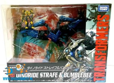 Transformers Movie The Best MB-10 Dinoride Starfe & Bumblebee