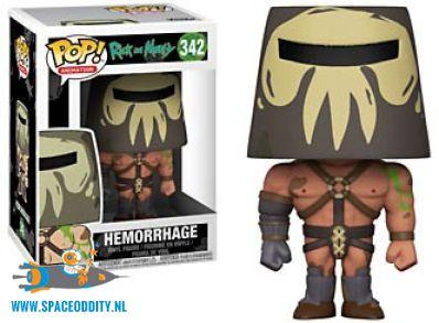 Pop! Animation Rick and Morty Hemorrage vinyl figuur