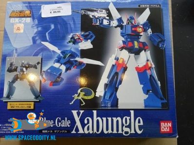 Blue Gale Xabungle GX-28 Soul of Chogokin actiefiguur
