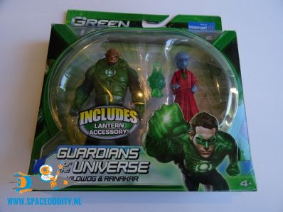 Green Lantern actiefiguren Kilowog & Ranakar.