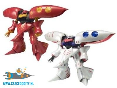 Gundam Zeonography Qubeley Red & White