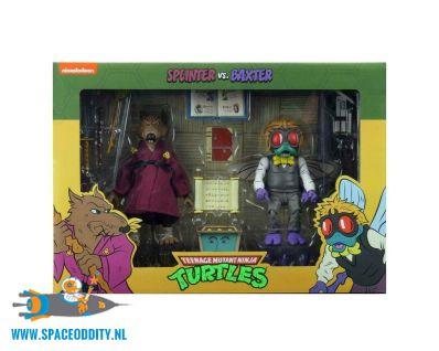 TMNT Turtles actiefiguren Splinter & Baxter