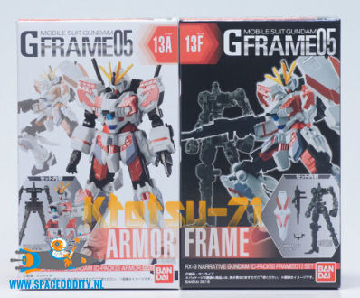 Gundam G Frame RX-9 Narrative Gundam (C-Packs) set van 2 doosjes