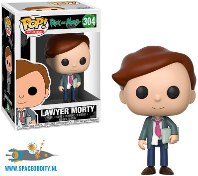 Pop! Animation Rick and Morty vinyl figuur Lawyer Morty
