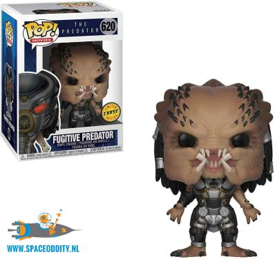 Pop! Movies The Predator vinyl figuur Fugitive Predator (chase)