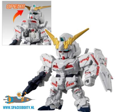 Gundam Micro Wars vol. 4 trading figuur Unicorn Gundam (destroy Mode)