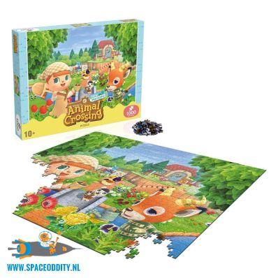 Animal Crossing New Horizons puzzel: characters van 1000 stukjes