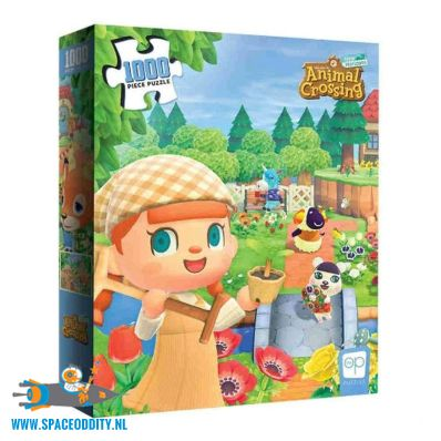 Animal Crossing puzzel New Horizons
