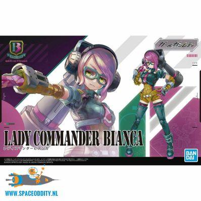 amsterdam-nederland-te-koop-anime-gunpla-winkel-Attack Girl Gun Lady Commander Bianca non scale bouwpakket