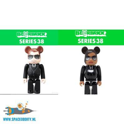 Bearbrick series 38 Men in Black set van 2