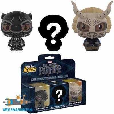 Black Panther pint size heroes verpakking met 3 figuurtjes