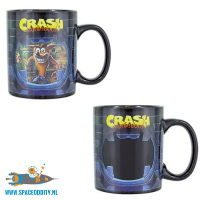Crash Bandicoot beker / mok heat change spacce Oddity amsterdam