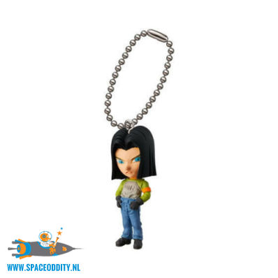 ​Dragon Ball mascot keychain UDM Burst 29 Android 17
