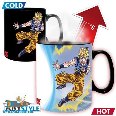 Dragon Ball Z beker/mok heat change Goku vs. Buu