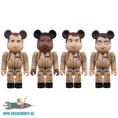 Ghostbusters 100% Bearbrick set van 4 figuren