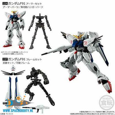 te koop, anime, nederland, Gundam G Frame 08 Gundam F91 set van 2 doosjes