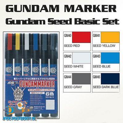 Amsterdam bouwpakketten winkel Gundam Marker GMS-109 Gundam Seed basic set
